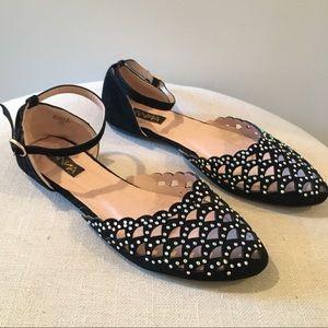 Shoes - [Anna] Multi color rhinestone flats